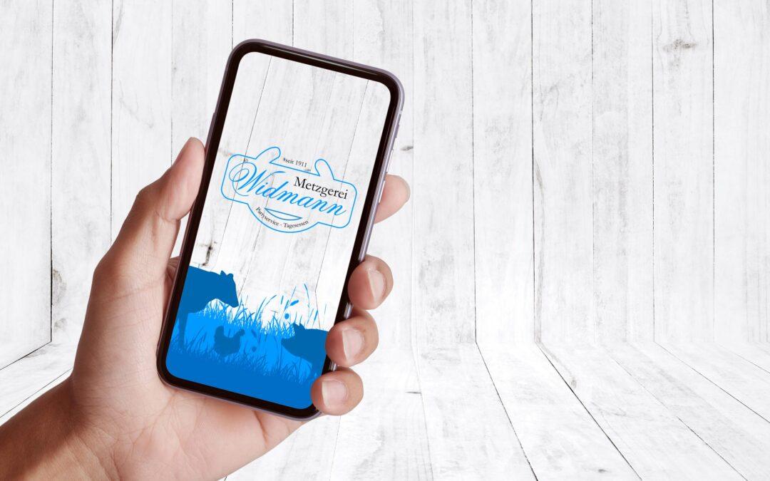 Metzgerei Widmann Bestell-App Key Visual